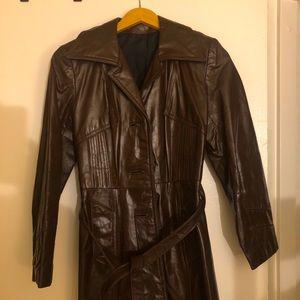 General Leather New York Vintage 70's coat